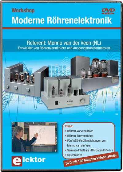 Workshop-DVD 'Moderne Röhrenelektronik'