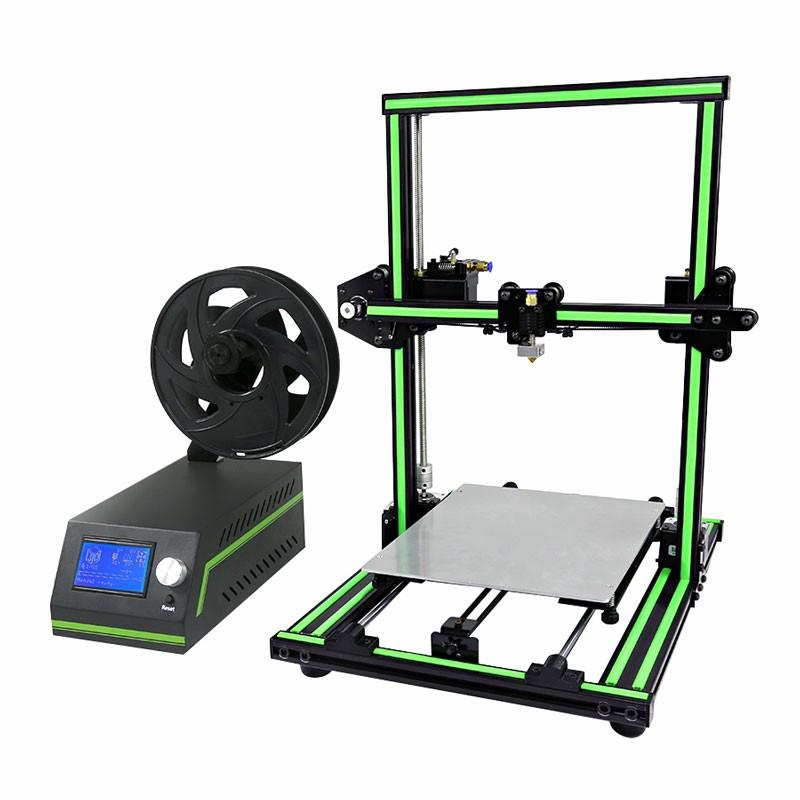 Anet E10 3D-Drucker (Schnellbausatz) inkl. 3 PLA-Filamente