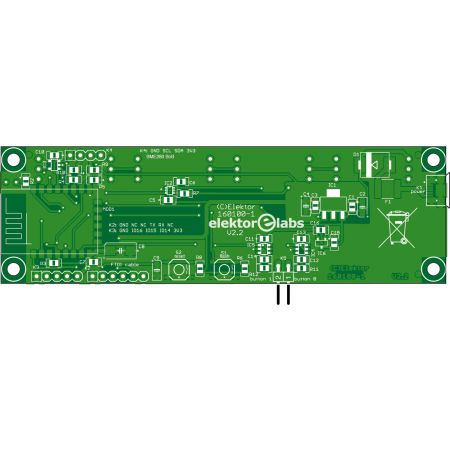 RGB Digit Clock (160100-1) - bare PCB