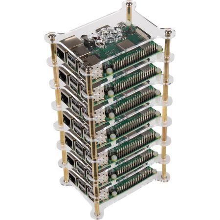 Tower-Case for Raspberry Pi Server Cluster