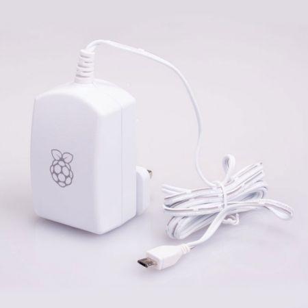 Offizielles Micro-USB-Netzteil für Raspberry Pi (weiß)