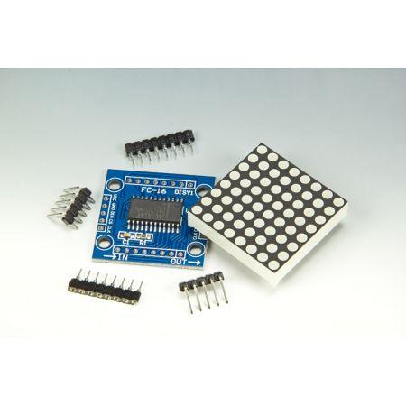 MAX7219 Dot Matrix Module (set of 8) [160491-71]