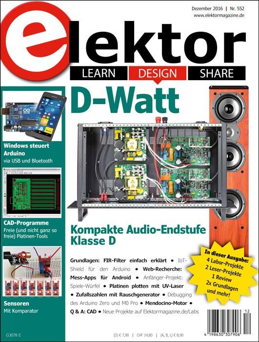 Elektor 12/2016 (PDF)