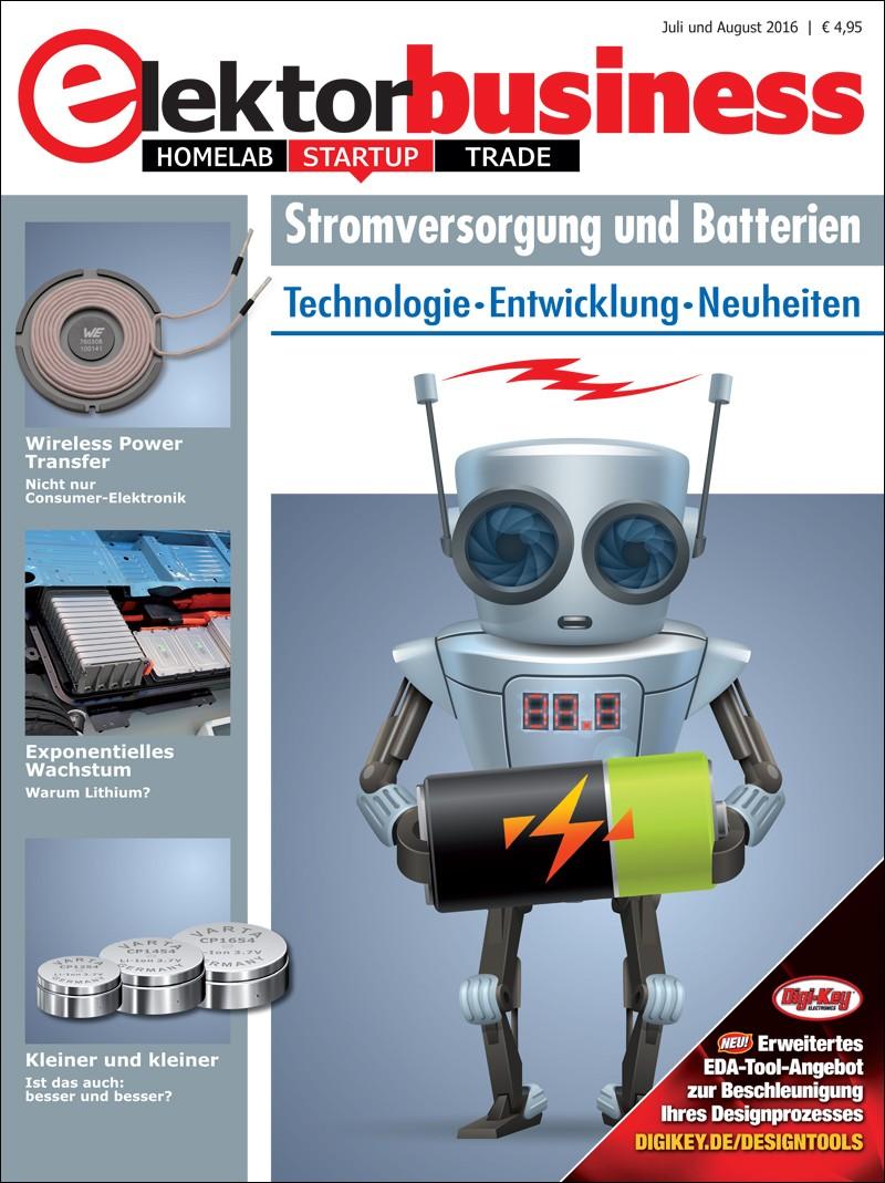 Elektor Business 'Stromversorgung und Batterien' (2016)