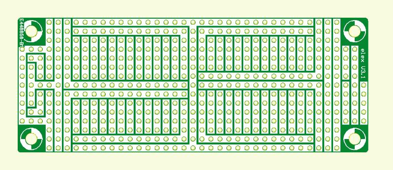 Zurück zu den Wurzeln (2) (Experimentier-Platine Elex-1 Größe 1)