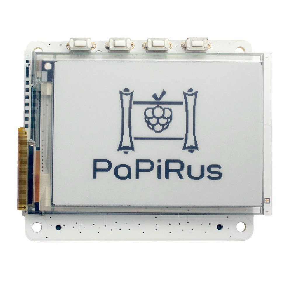 "PaPiRus – ePaper Screen HAT for Raspberry Pi (Large 2,7"")"