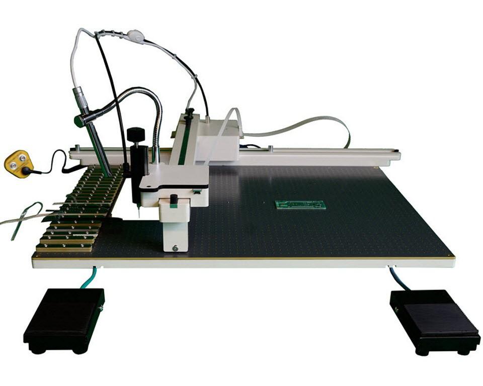 eC-placer – Kameragestützte SMD-Bestückungsmaschine