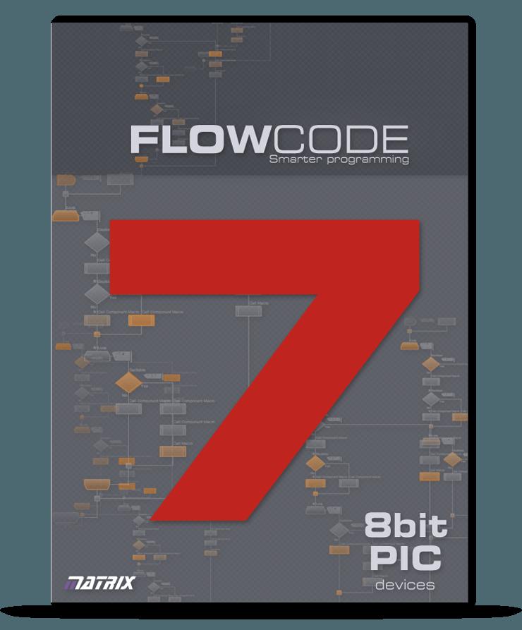 Standard 8bit PIC licence Flowcode 7