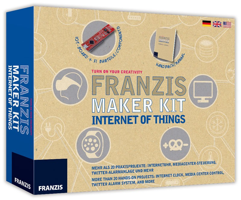 Franzis Maker Kit Internet of Things