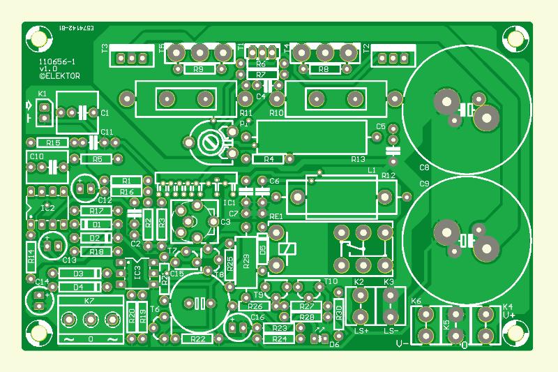 Q-Watt – Audio Power Amplifier (110656-1)