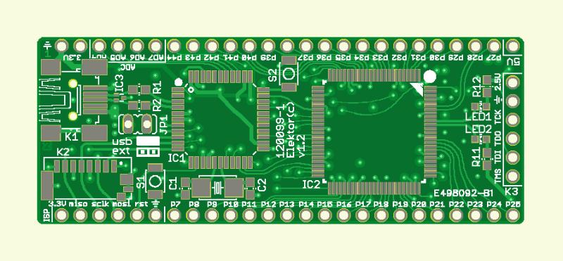 Elektor-FPGA-Board (120099-1)