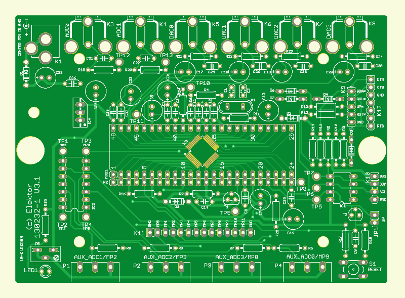 Universelles Audio-DSP-Board