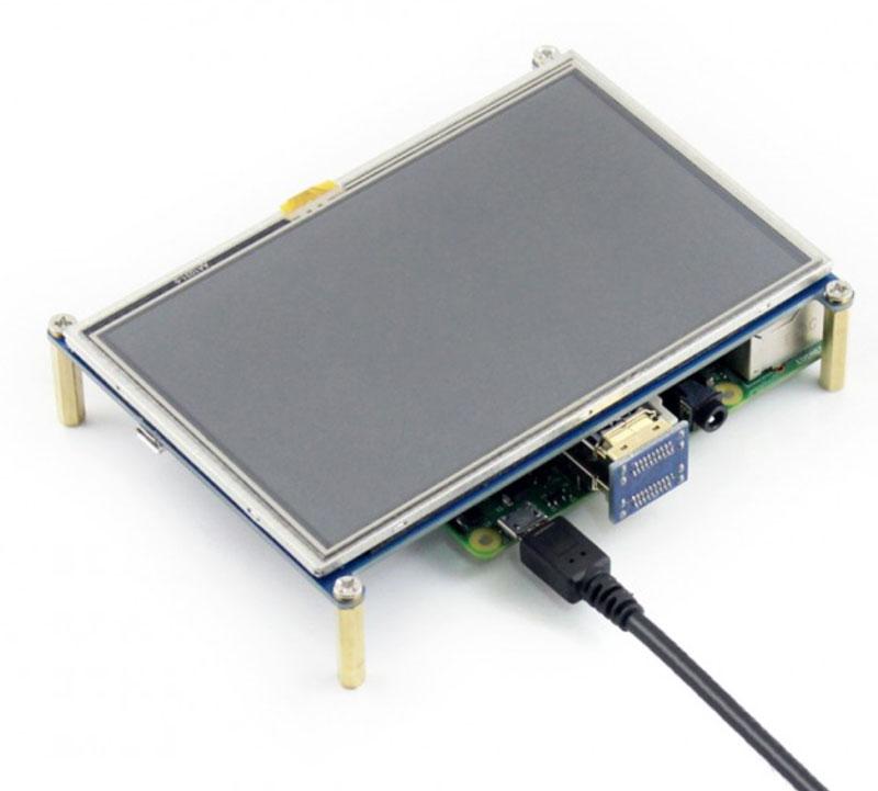 """JOY-iT 5"""" Touchscreen for Raspberry Pi"""