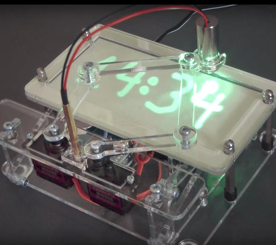 Laser-Zeitschreiber (Upgrade-Kit für die Sanduhr)
