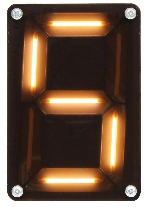 Bausatz für 7-Segment-Display - Leditron (150448-71)