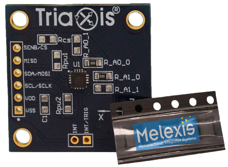 Melexis MLX90393 Evaluationboard