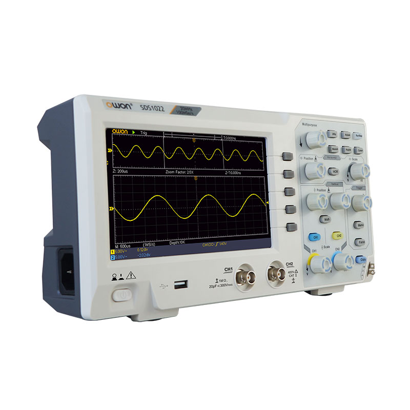 OWON SDS1022 2-ch Digital Oscilloscope (20 MHz)
