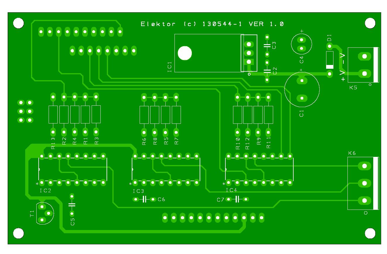 Platino-Transistortester (130544-1)