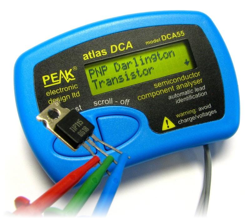 Atlas DCA55 – Halbleiter-Tester