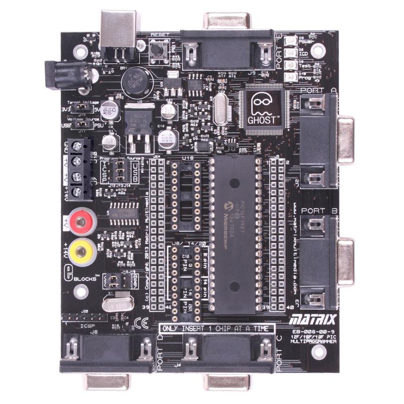 PIC-Multiprogrammer Rev. 9 (EB006)