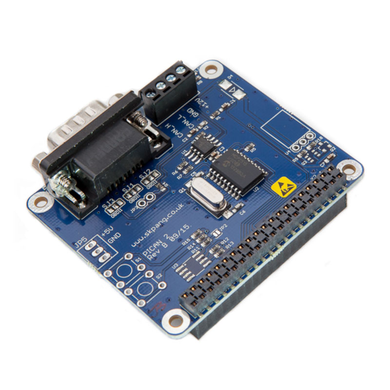 PiCAN 2 – CAN-Bus Board for Raspberry Pi