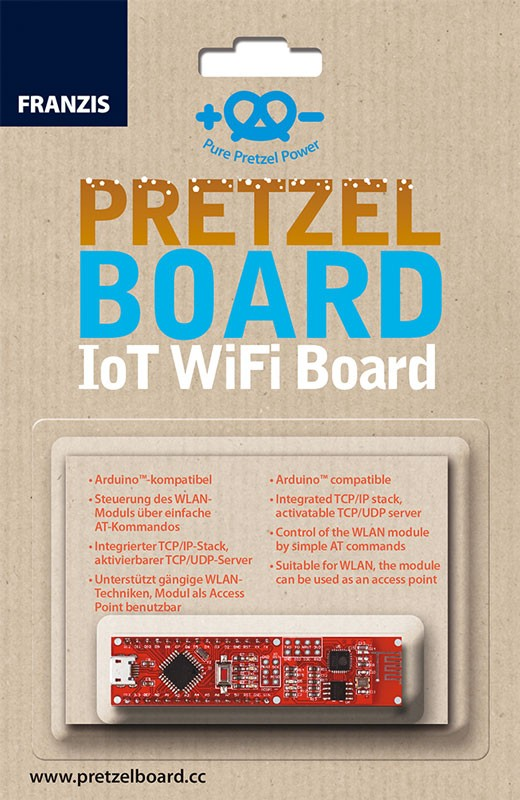 Pretzel Board – IoT WiFi Board