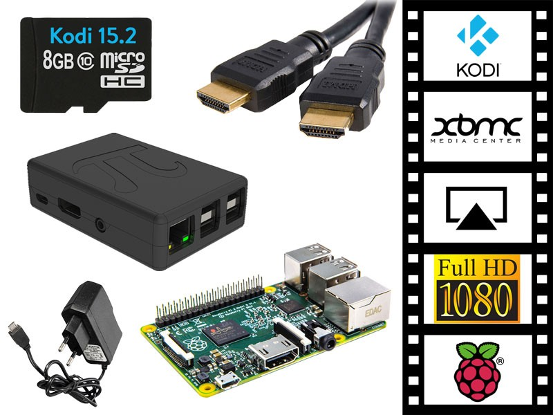 Raspberry Pi 3 Kodi/XBMC Media Player