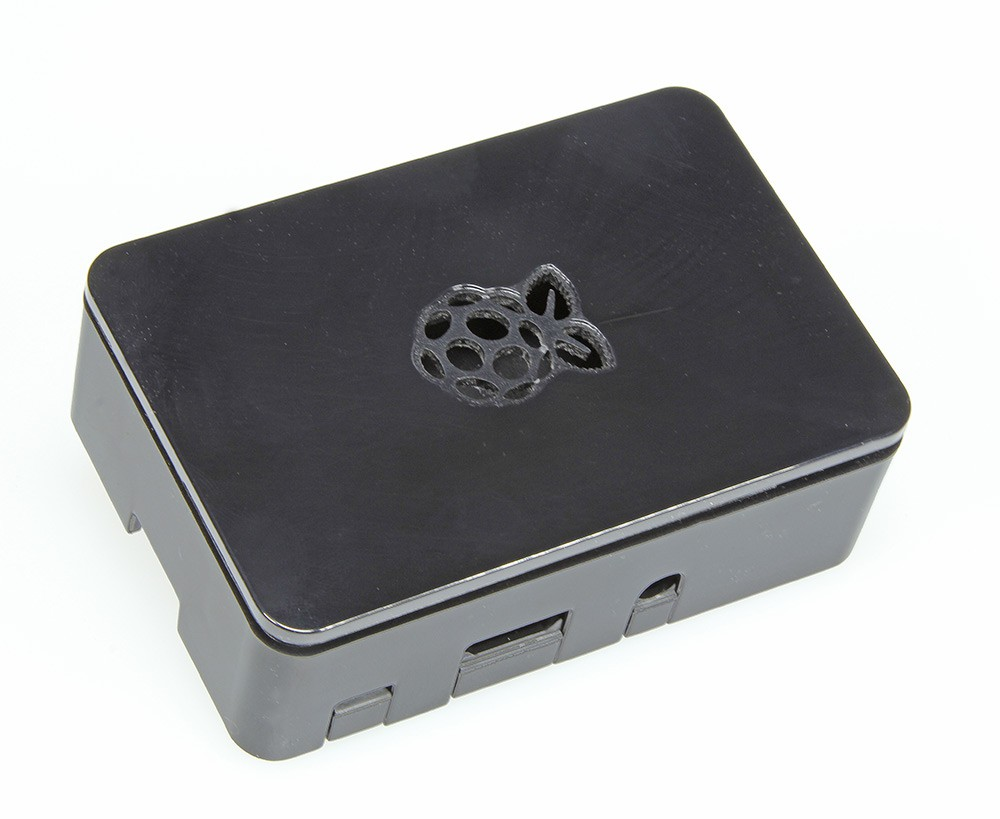 Gehäuse für Raspberry Pi 3, 2 und B+ (schwarz)