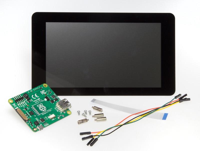 """Offizielles 7""""-Touch-Display für Raspberry Pi"""