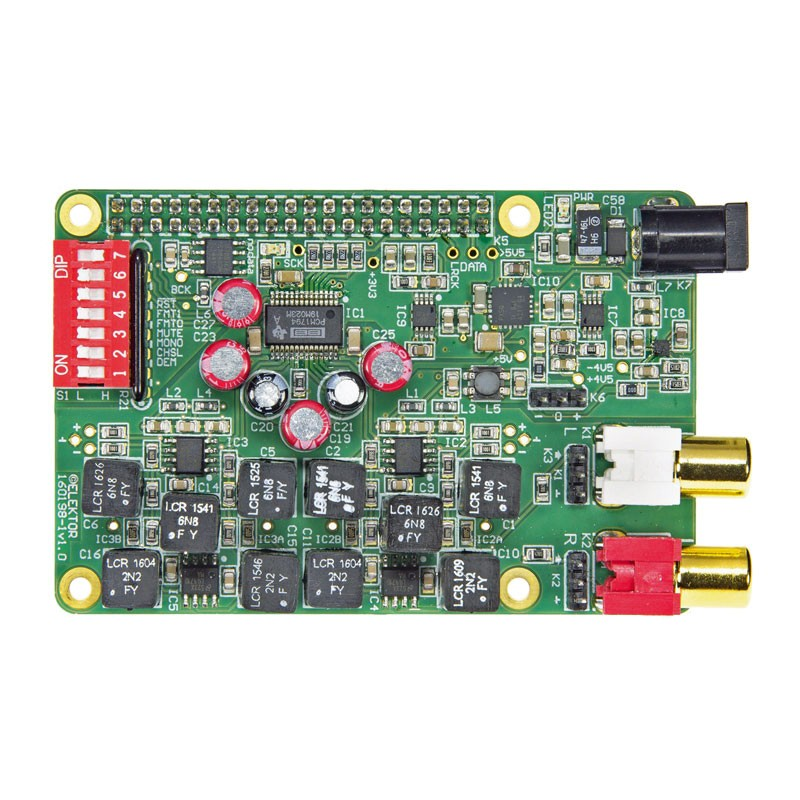 RPi High End Audio DAC (Module | 160198-91)