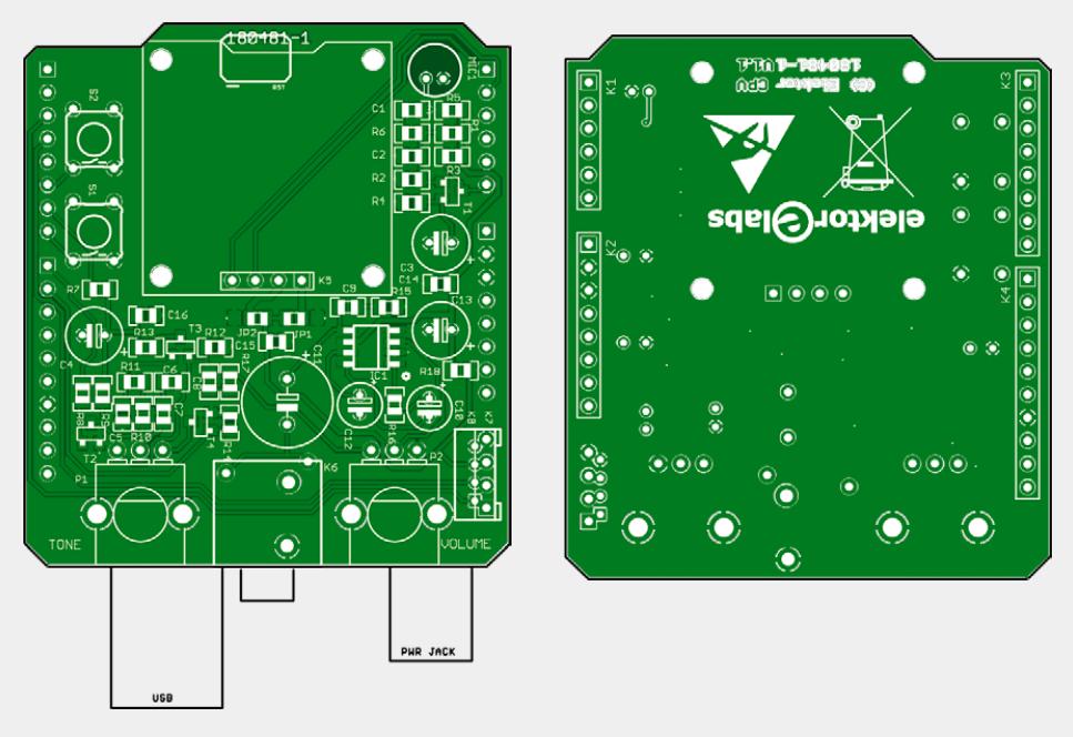 Snore Shield - bare PCB (180481-1)
