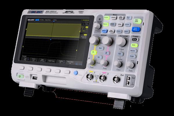 Siglent Oszilloskop SDS1102X (100 MHz)
