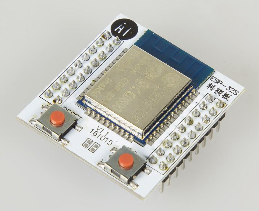 ESP32S pinboard breakout module