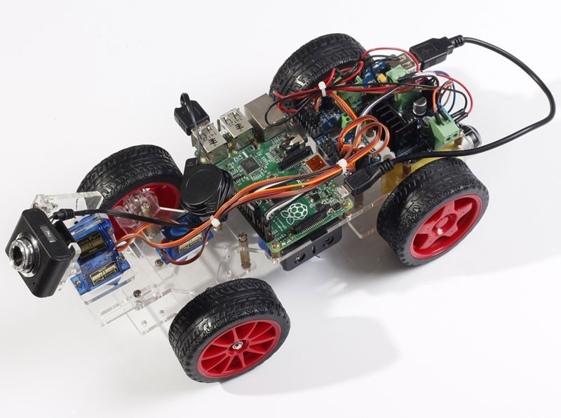 Smart Video Car für Raspberry Pi