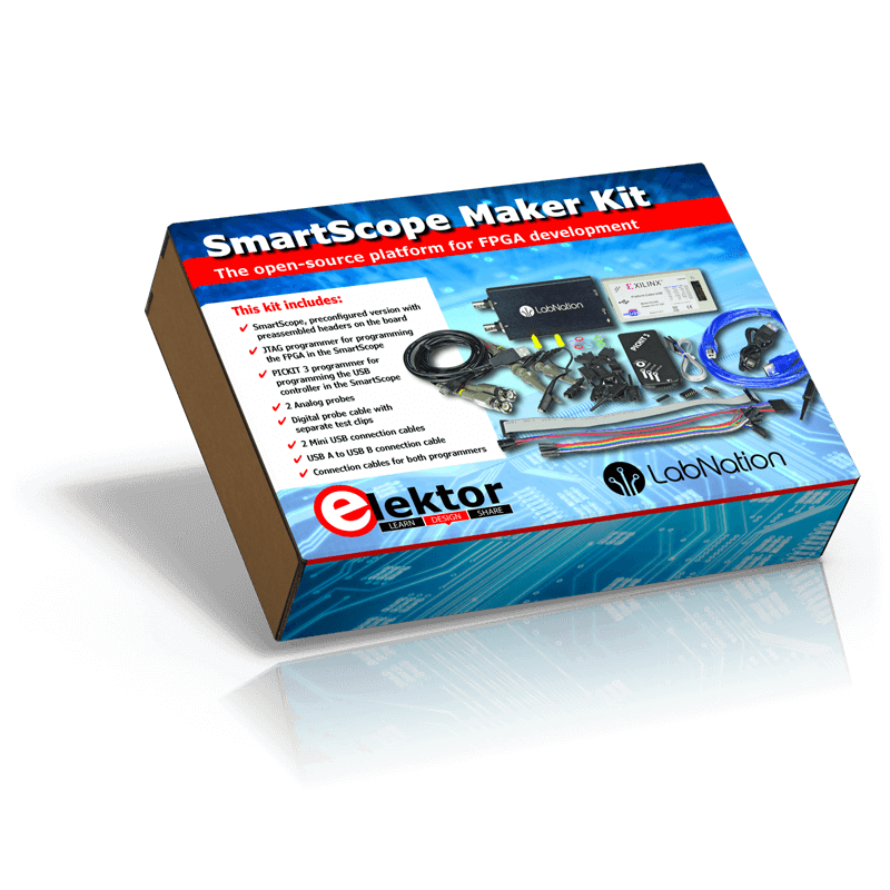 LabNation SmartScope Maker Kit