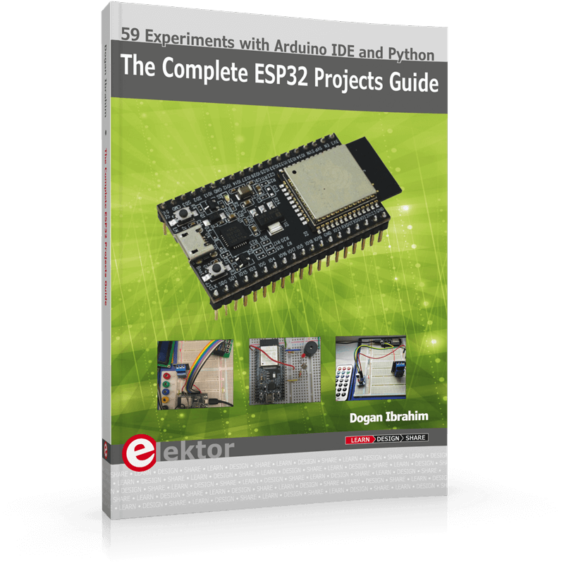 The Complete ESP32 Projects Guide