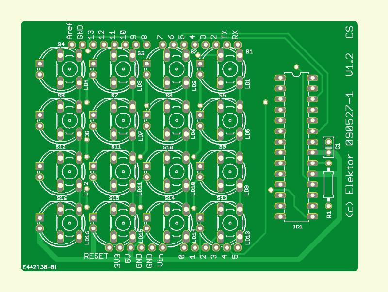 Touch-LEDs für Arduino (090527-1)