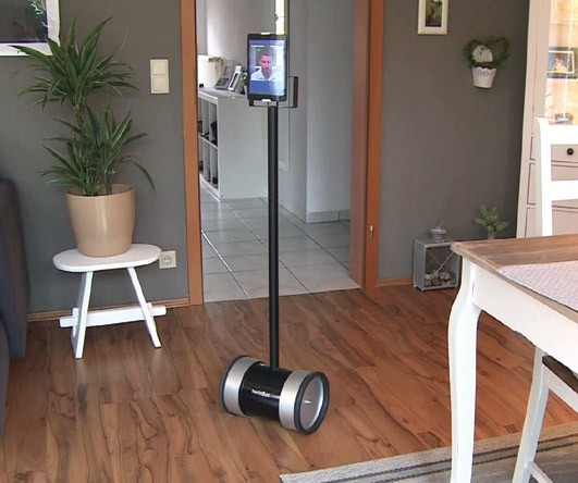 """Twinbot Complete Telepresence robot including 8"""" Tablet"""