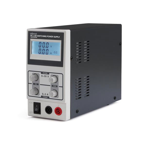 DC Lab Switching Power Supply 0-30 V / 0-3 A