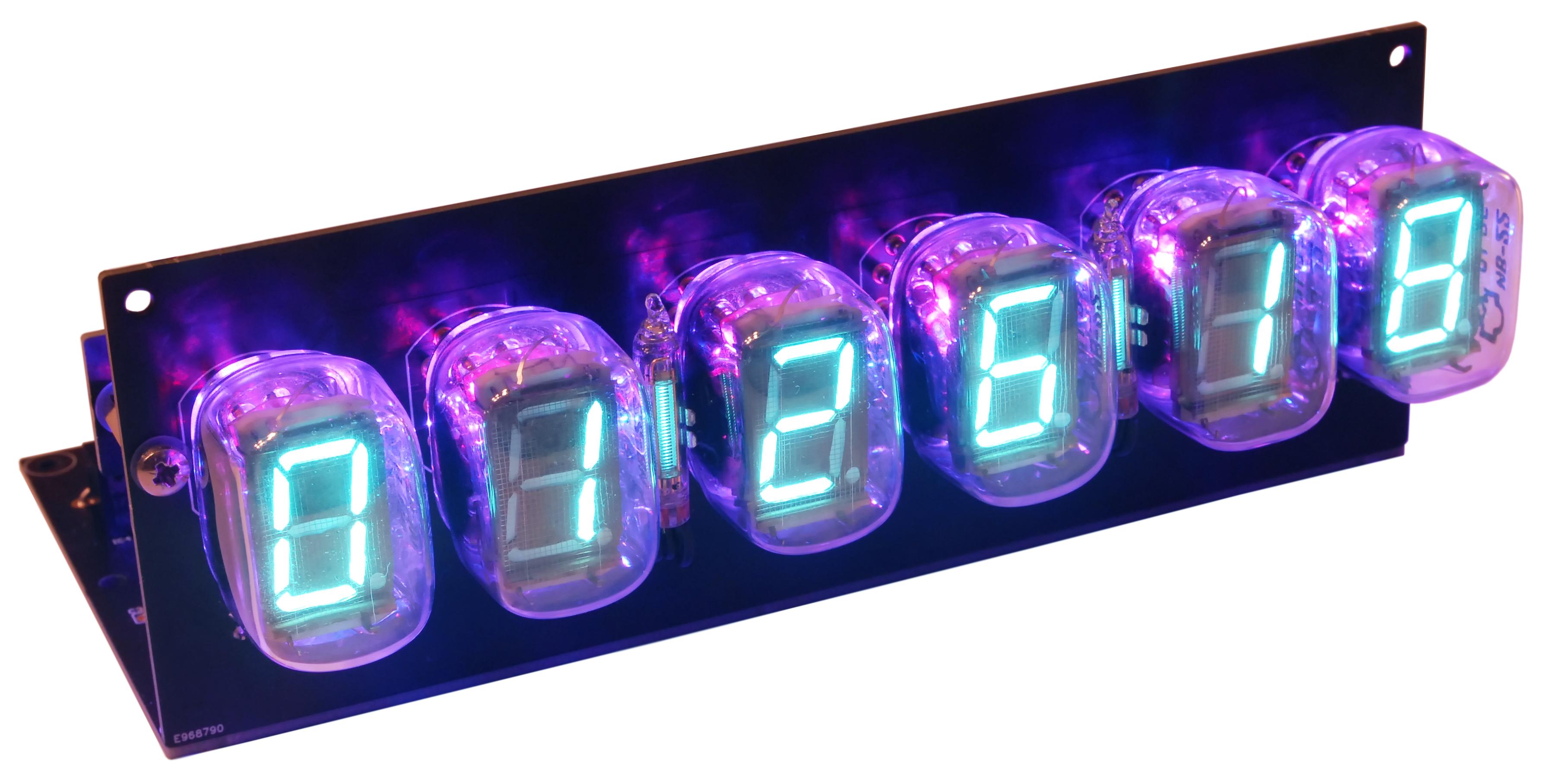 VFD-Röhren-Uhr mit ESP32 DevKit-C (170573-71)