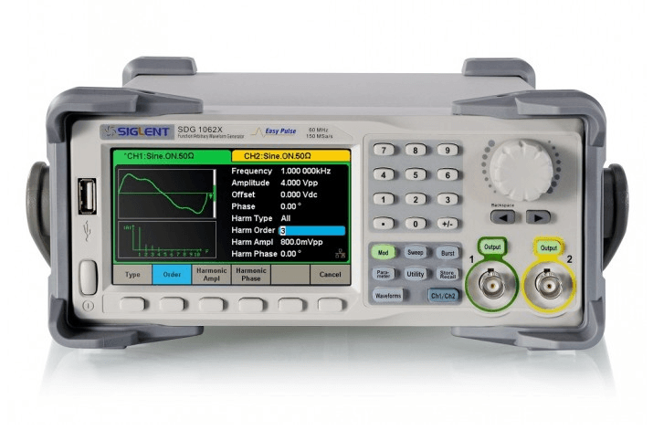 Siglent SDG1032X Arbitrary Waveform Generator (30 MHz)
